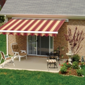 red-retractable-awning