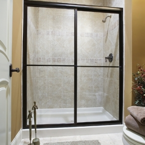 black-slider-shower-