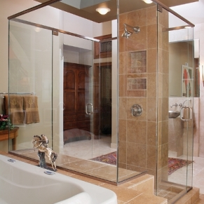 frameless-shower-interior-view